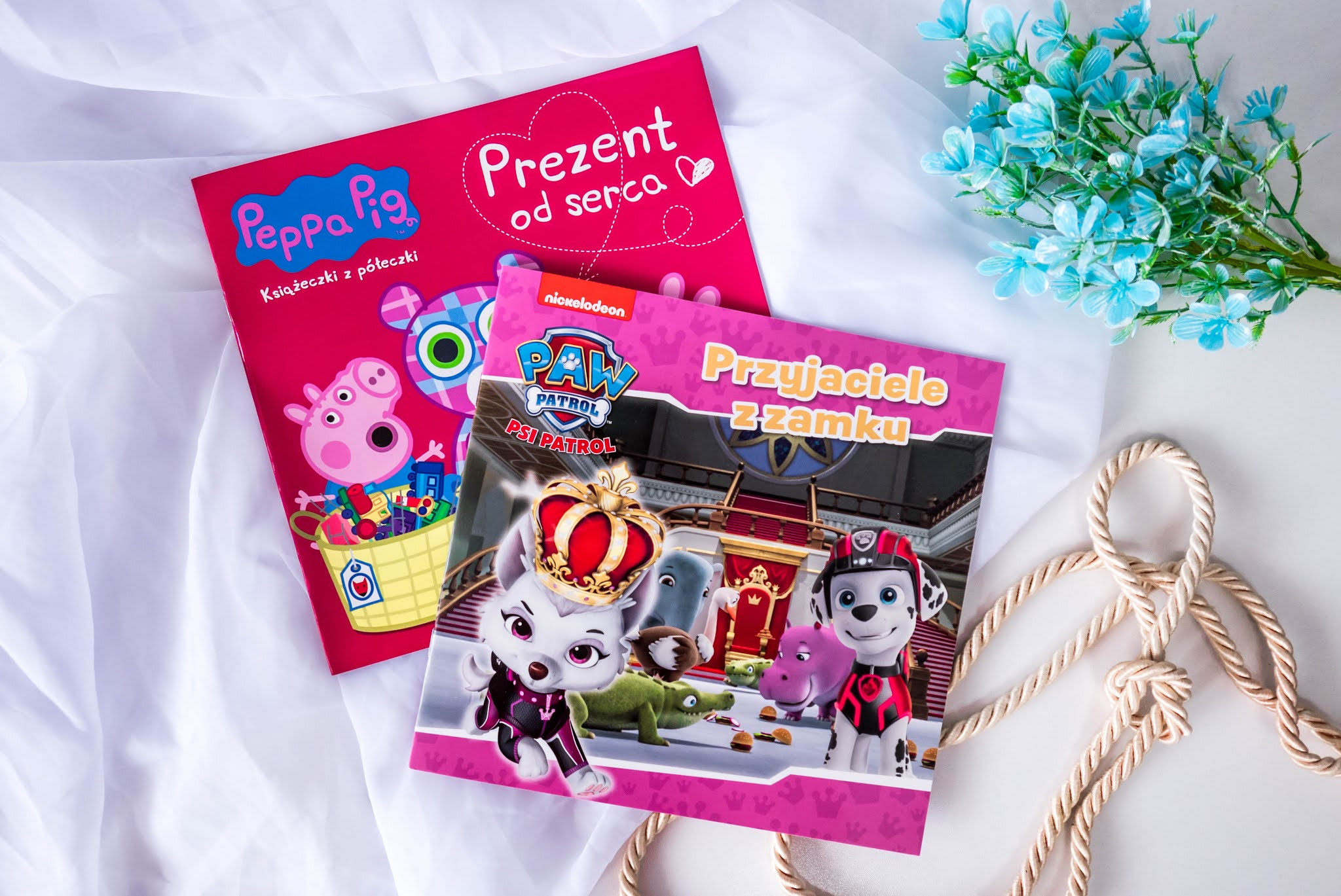Nowości wydawnicze dla dzieci do czytania i zabawy od wydawnictwa Media Service Zawada | 44 Koty, Shimmer & Shine, Peppa Świnka, Psi Patrol, L.O.L. Surprise!