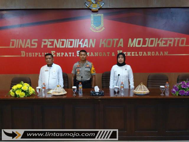 Polres Mojokerto Kota,BNN dan Dinas Pendidikan Kota
