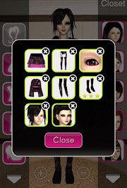 Click to Enlarge - Style Me Girl Level 60 - Super Heroine - Aoi - Closet