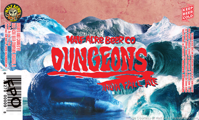 Half Acre Adding Dungeons IPA 16oz Cans