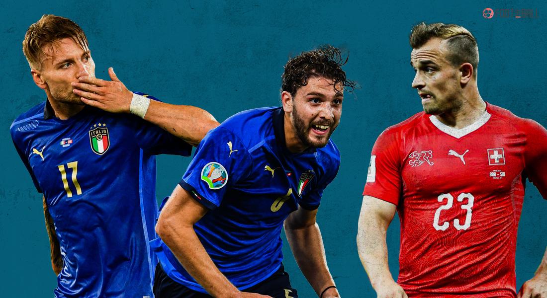 ايطاليا وسويسرا