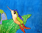 Humming Bird by Lily