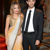 WWW.ENTSIMAGES.COM -    Tasmin Lucia  Khan and Junaid Zaman   arriving     at       Anti-Slavery International 175th Anniversary Ball at Grosvenor House, London September 27th 2014Ball to celebrate the 175th anniversary of the Anti-Slavery International organisation. The event represents the continued campaign to end modern day slavery.                                                  Photo Mobis Photos/OIC 0203 174 1069