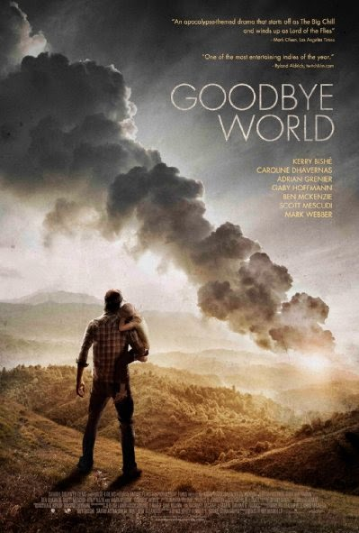 Poster Of English Movie Goodbye World (2013) Free Download Full New Hollywood Movie Watch Online At alldownloads4u.com