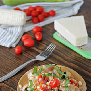 Summer Vegetable Pasta Skillet