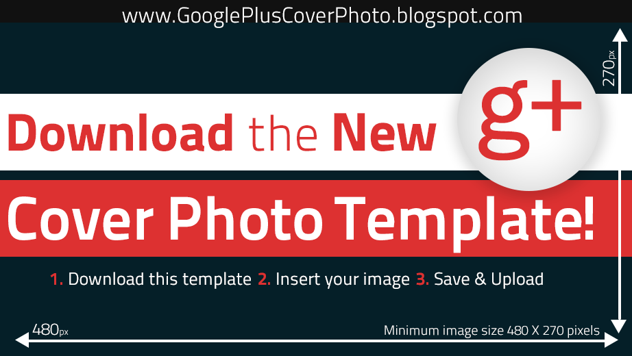 Google Cover Photo Template