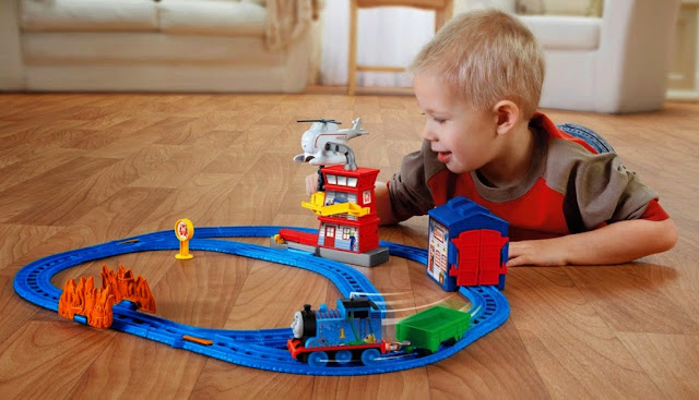 Motorized Railway Thomas & Friends Sodor Search & Rescue Set tuyệt đối an toàn