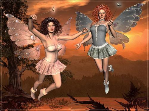 Two Magic Fairies, Fairies Girls
