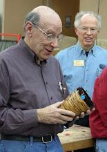 Photo: David Jacobowitz - segmented marblewood and wenge vase