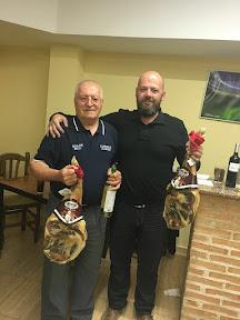 Diego Sanchez Lopez y Jose María Bachiller, Campeones del CAMPEONATO DE MUS CAFETERÍA-RESTAURANTE LA PARADA