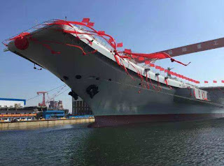 China's newest gargantuan destroyer warship