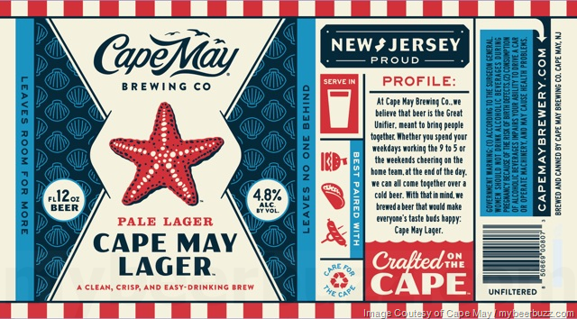 Cape May Brewing Summer Catch & Cape May Lager Coming To Cans