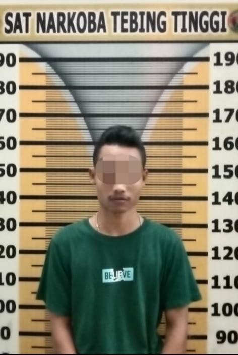 Miliki Sabu, Seorang Mahasiswa Ditangkap Polisi di Kota Tebing Tinggi