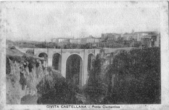 Photo: Civita Castellana. Ponte Clementino, sec. XVIII [Per gentile concessione di Franca Pelinga].
