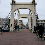 bridge in amsterdam in Amsterdam, Noord Holland, Netherlands