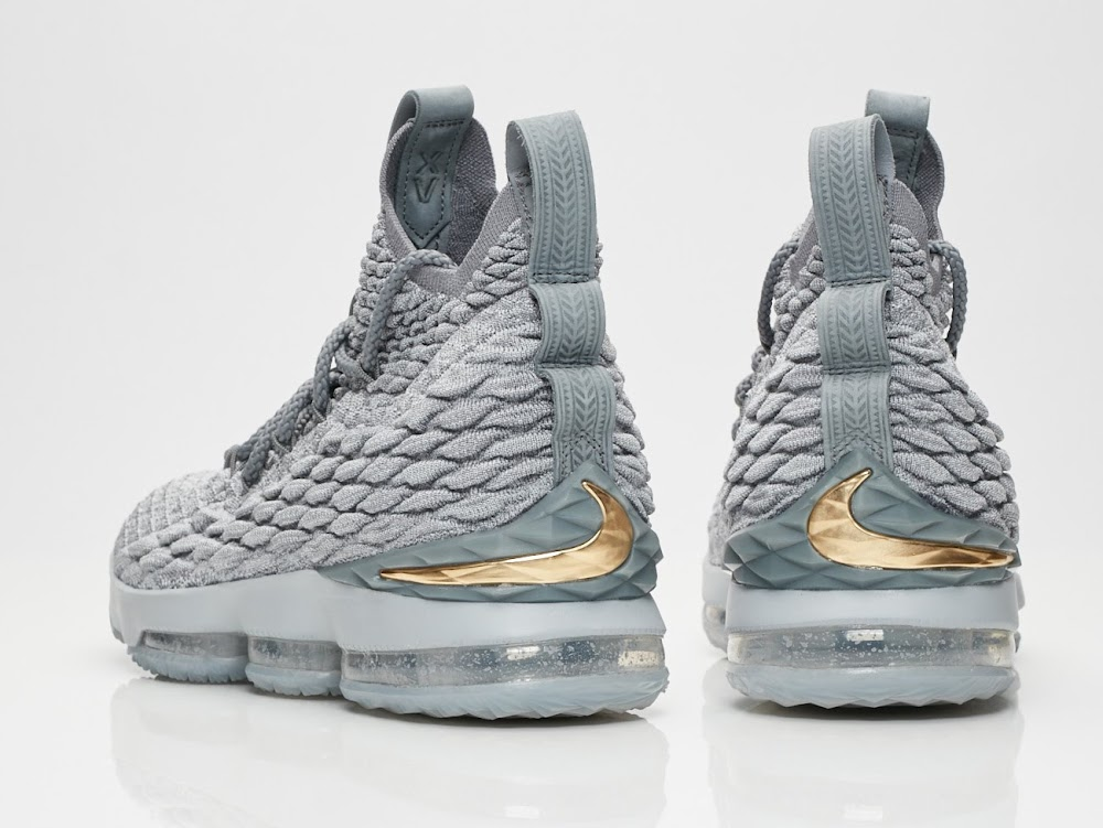 official photos d0ff4 3fcf5 Release Reminder: Nike LeBron 15 Wolf Grey (897648-005 ...