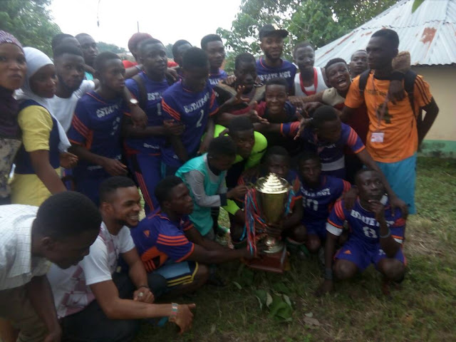 FEDERAL POLYTECHNIC EDE RECTOR'S CUP FINAL: How Estate Management beat Banking and Finance [SEE PHOTOS]