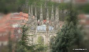 Vista desde el Castillo de Burgos