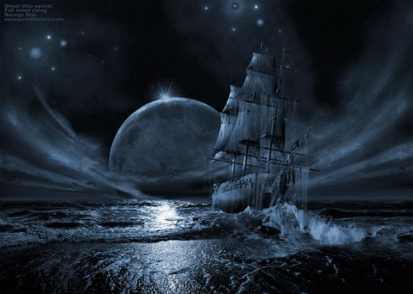 Ship On The Moon Of Ocean, Magick Lands 3