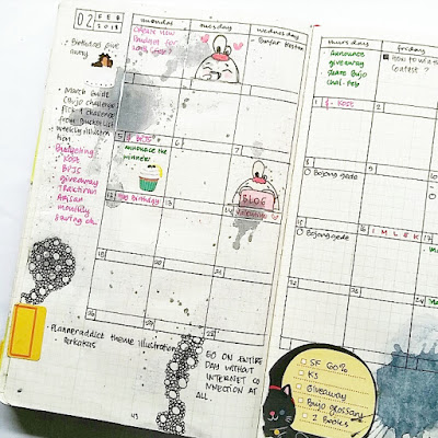 contoh monthly log bullet journal indonesia
