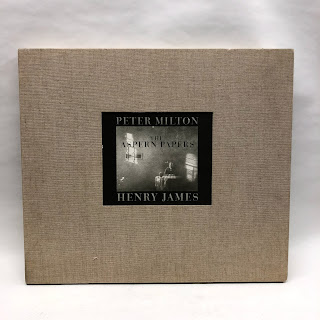 Signed Peter Milton/ Henry James 'The Aspern Papers'