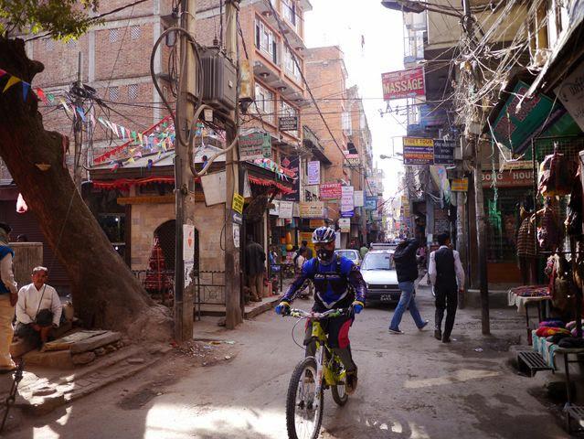 達人帶路-環遊世界-尼泊爾-腳踏車