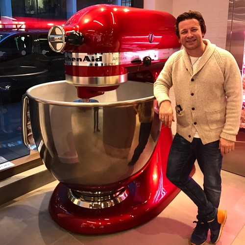 jamie oliver giant kitchen aid