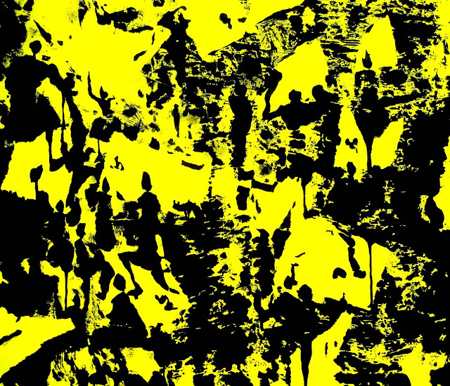 FASIM - Pareidolia 6, (Urban impressions) ,acrylic and spray acrylic on canvas, 54x65 cm, 15F, 2015 baja