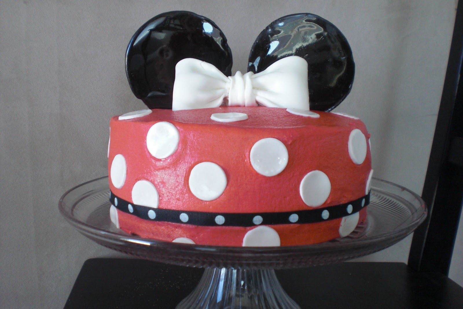 Cakes By Patrice Red Minnie Mouse