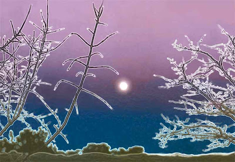"""The """"Winter Moon"""" piece from the """"2004"""" collection"""