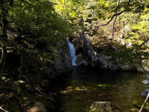 Belle cascade de la Luvana