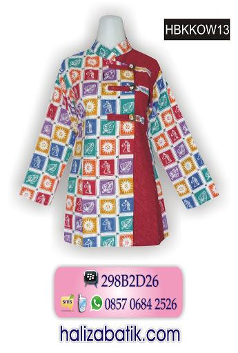 desain baju batik, batik pekalongan, baju batik muslim