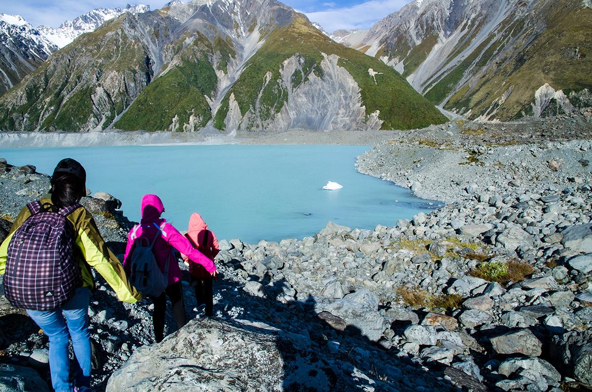 庫克山 Mt.Cook Blue Lake and Tasman Lake Tracks