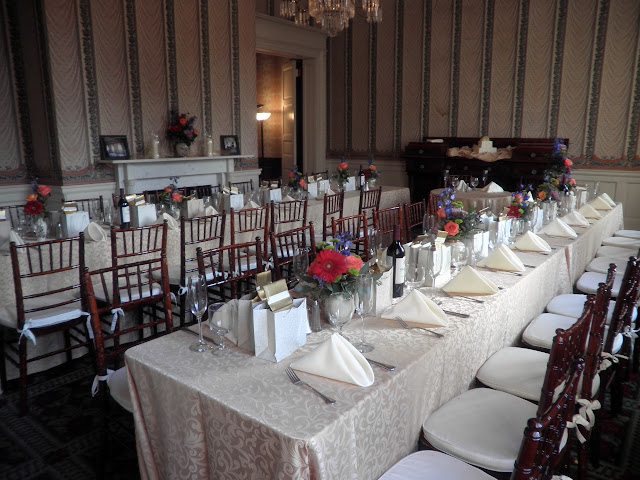 Spring Wedding Banquet in Dining Room
