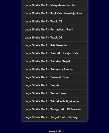 Download Lagu Sheila On 7 Terlengkap Dan Terbaik Mp3 Google Play