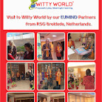 Visit to Witty World by our Eumind Partners from RSG, Broklede Netherlands