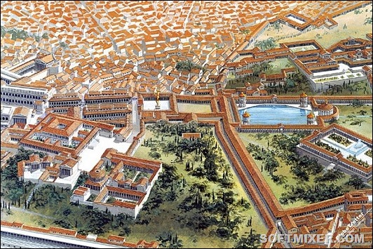 Rome-Golden-Palace-of-Nero