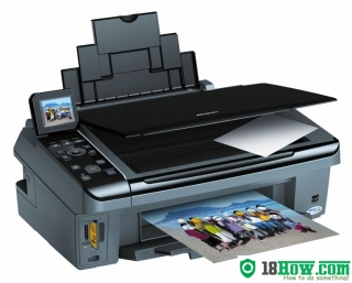 How to reset flashing lights for Epson SX510 printer
