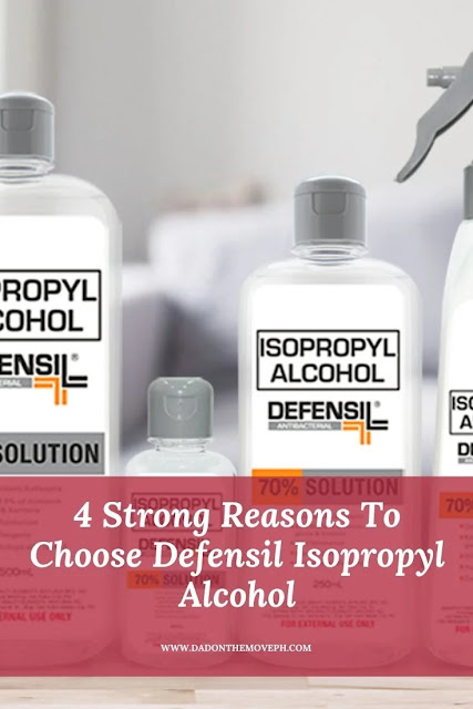 Defensil Isopropyl Alcohol product review