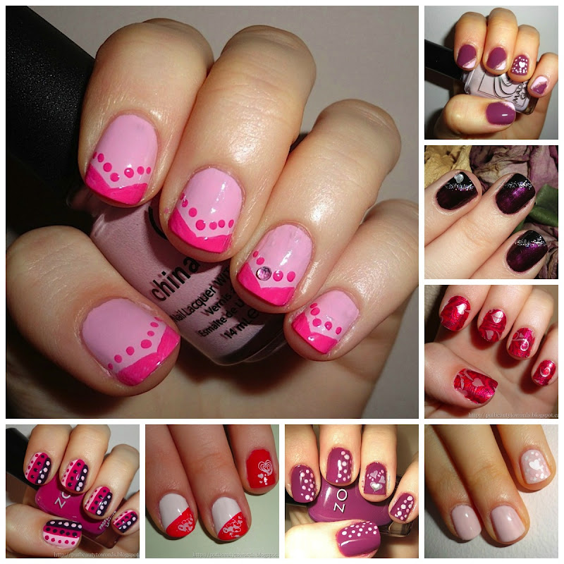 8 Valentine s Day Nail Designs 1