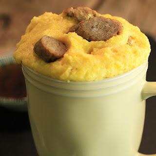 Sunny Anderson's Sausage Corn Mug Muffins