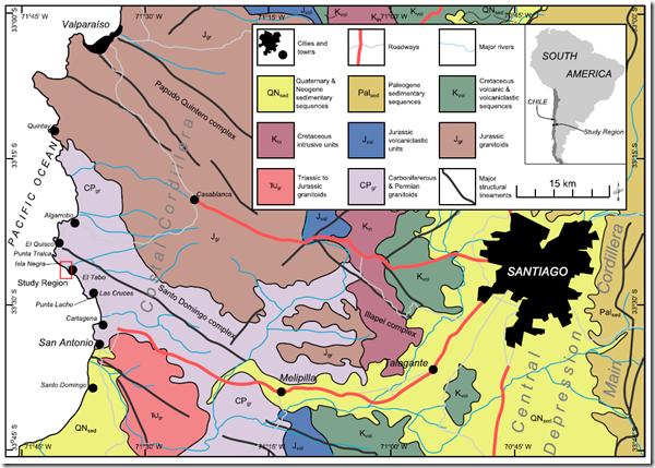 Geológico Santo Domingo