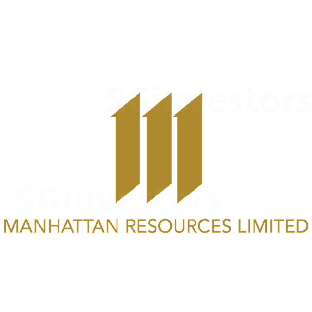 MANHATTAN RESOURCES LIMITED (L02.SI) @ SG investors.io