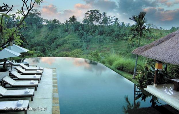Natural modern interiors komaneka tanggayuda ubud bali for Design hotel ubud