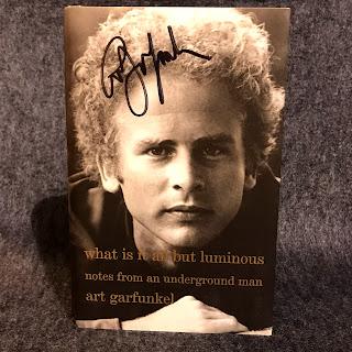 Signed Art Garfunkel Memoir