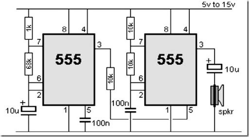 555 timer schematic police siren_thumb%25255B1%25255D?imgmax=800 555 timer circuit diagram police siren simple schematic collection