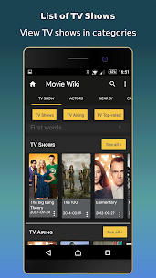 Movie Wiki –  Trailers – TV Show – Film & Cinema  App Download For Android and iPhone 4