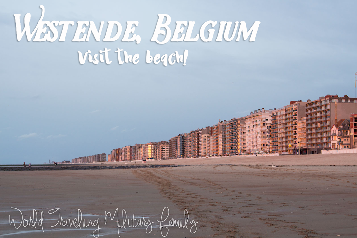 Westende, Belgium - Visit the Beach!