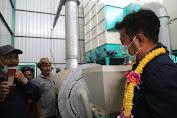 Mentan SYL Tinjau Dryer di Luwu Timur, Kementan Akan Genjot Produksi Dengan Mekanisasi
