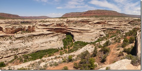 View Kachina Bridge, Natural Bridges National Monument